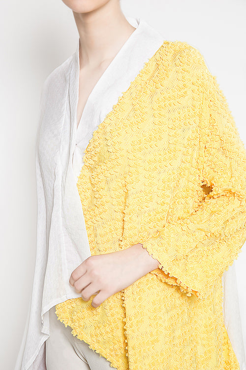 Nala Outer in Yellow