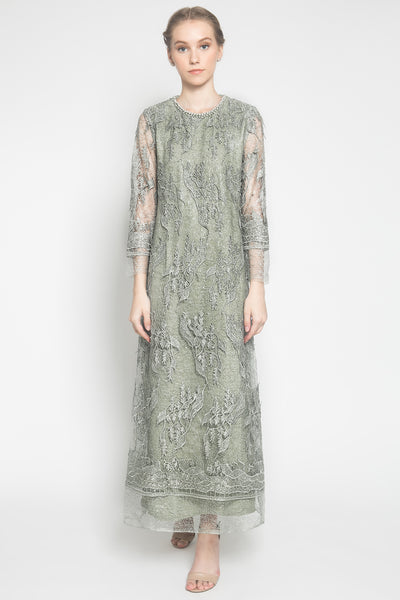 Damaika Dress in Grey