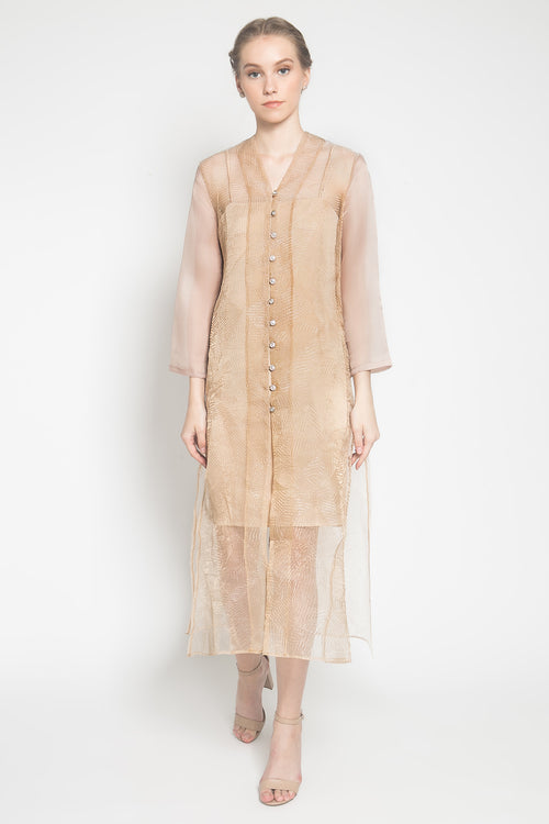 Diora Dress in Mocca