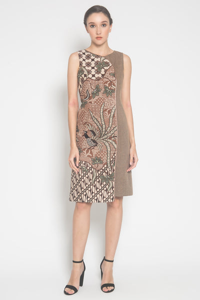 Aruna Dress in Nude