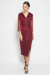 Vezzo Studio Adrianne Wrap Dress