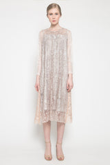 Leandra Dress in Crepe