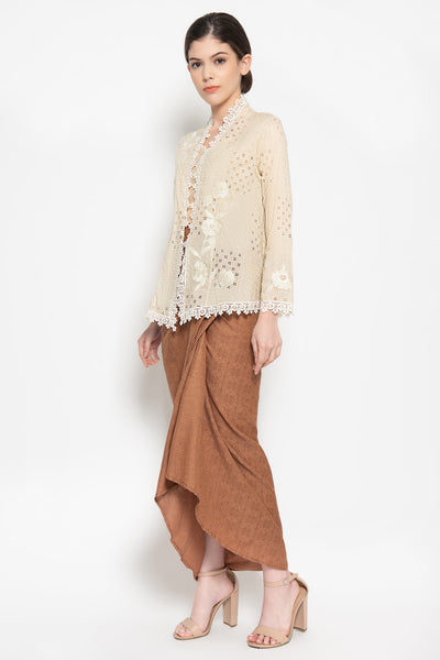 Wrap Around Skirt in Brown