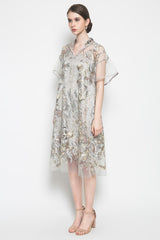 Sakura Dress in Grey