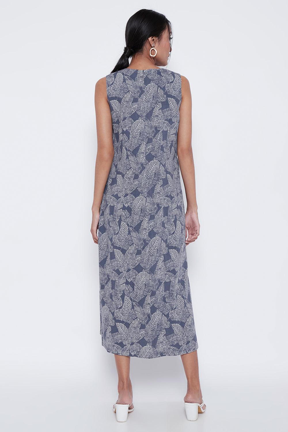 Aleta Dress in Blue