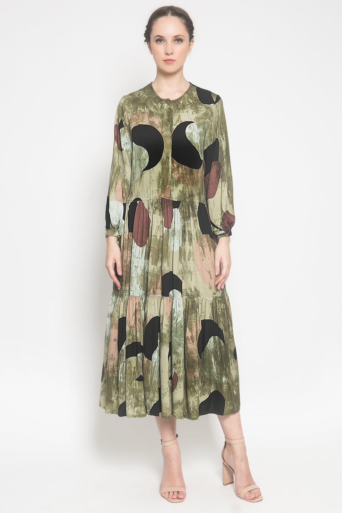 Prairie Dress in Moss