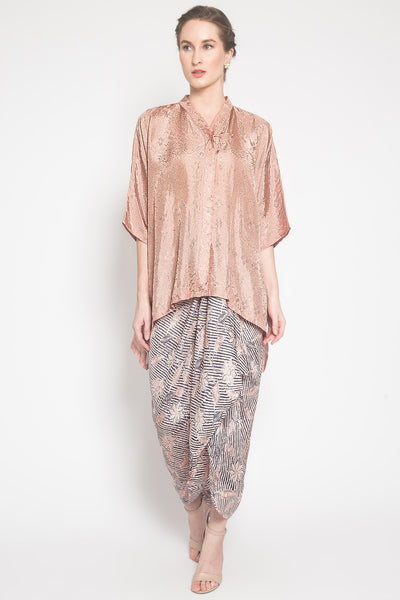Liany Batik Set in Mocca