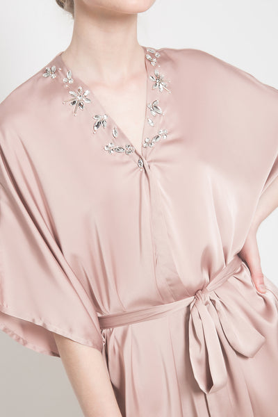 Kalla Outer in Mauvy Pink