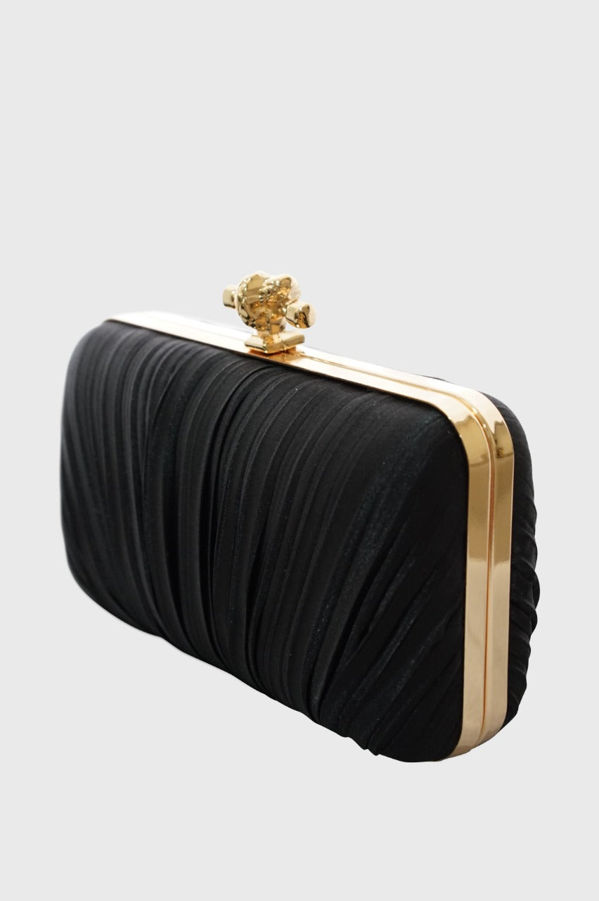 Barbara Clutch in Black