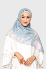 Dawn Hijab Aura Scarf in Blue Gray