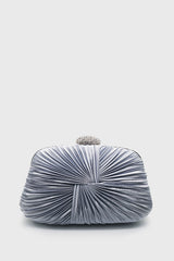 Emalia Clutch In Silver