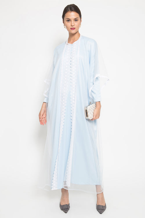 Baby Blue Kaftan Set