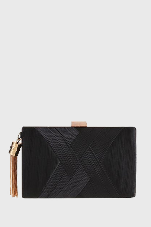 Sancato Clutch in Black
