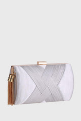 Sancato Clutch in Silver