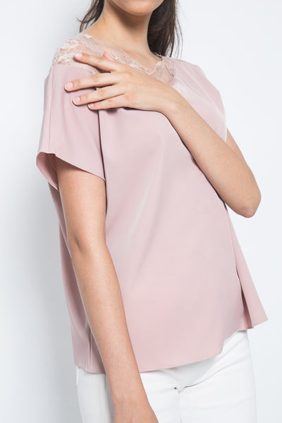 Ai'telier Torino Top in Pink