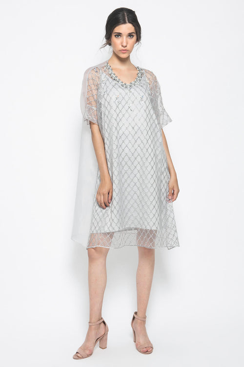 Khansa Dress in Grey