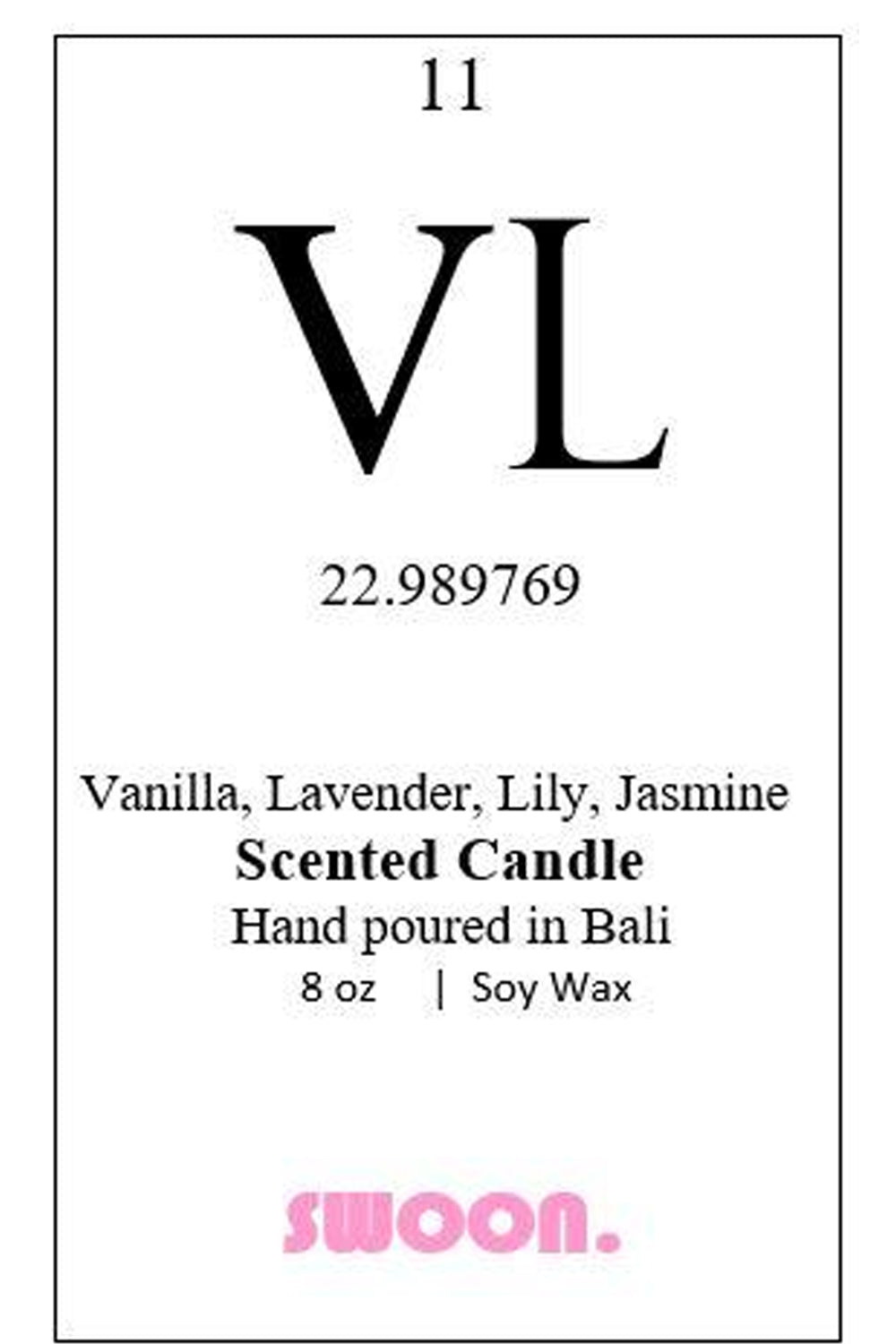 Vl Scented Candle