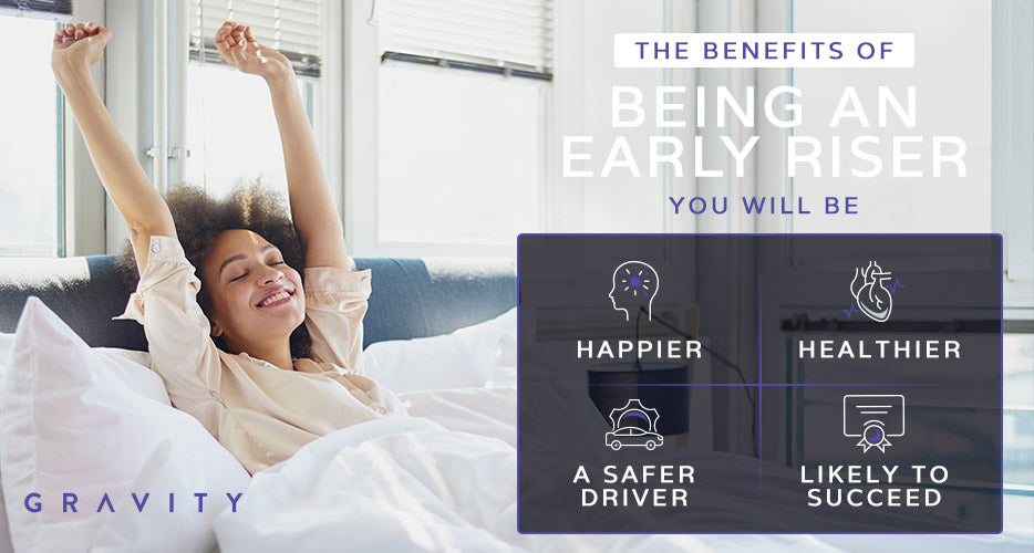the benefits of being an early riser