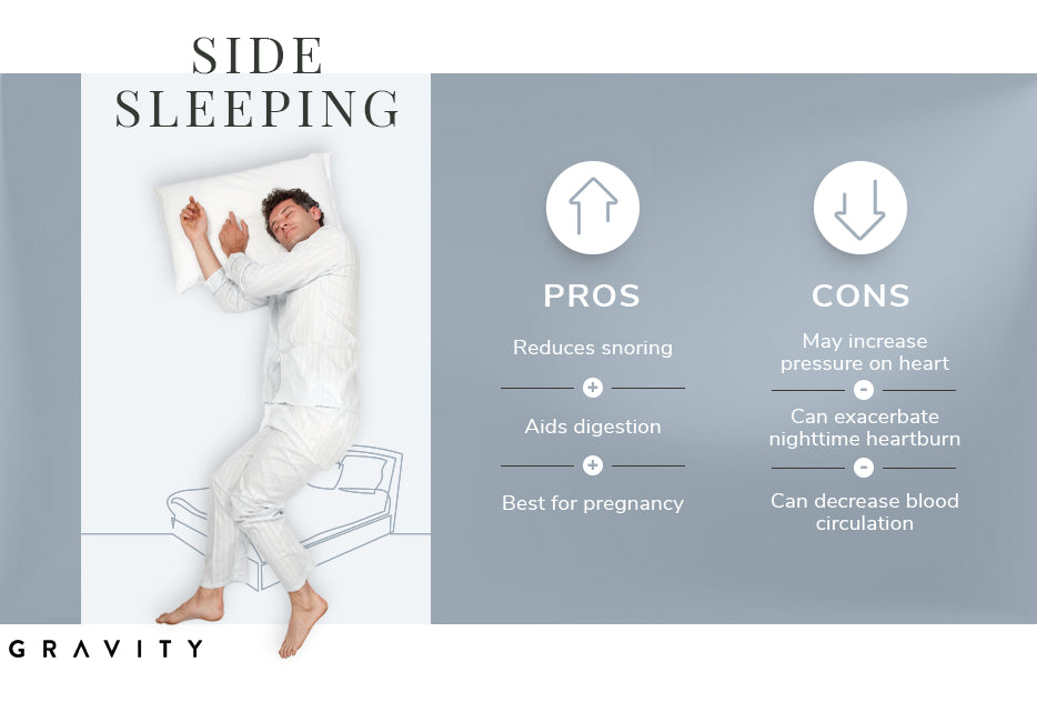 side sleeping pros and cons