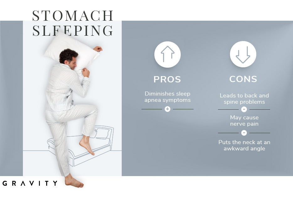 stomach sleeping pros and cons