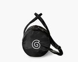 Image of black duffle carrying bag.