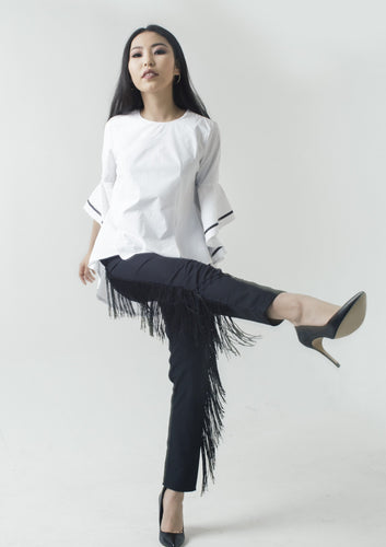 Trousers, Fringe, New fashion trousers, Modest fashion, Empress, Empresslabel
