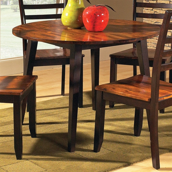 Abaco Double Drop Leaf Dining Table Set With 4 Chairs