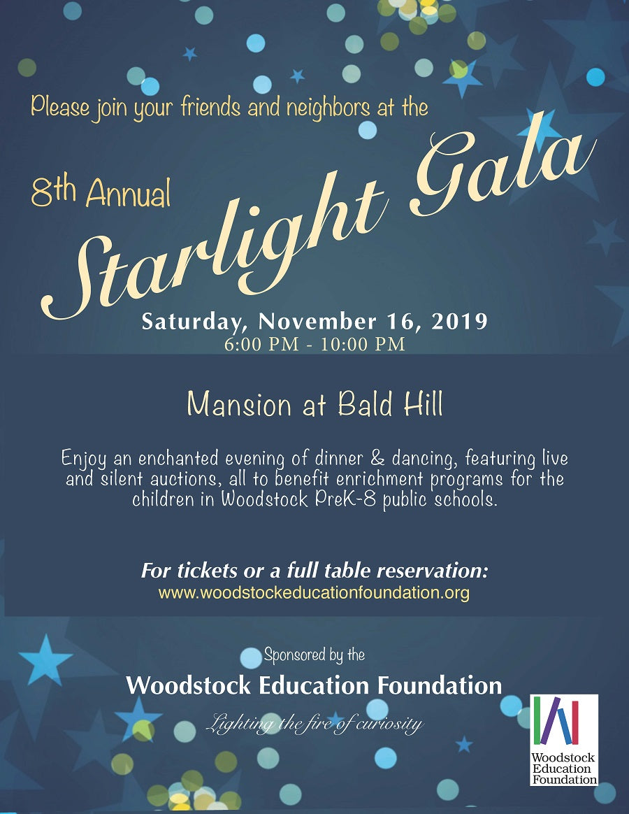 8th Annual Starlight Gala: November 16, 2019