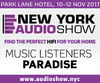 Press Release: +AUDIO Exhibiting at NY Audio Show