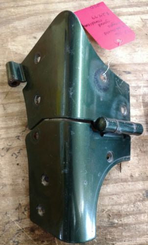 Windshield Hinges Green Steel Jeep Wrangler TJ 97-06 OEM