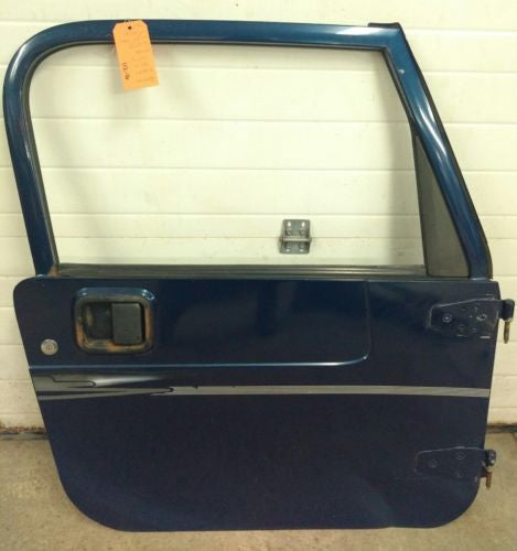 Jeep Wrangler TJ Full Steel Door 97-06 1997-2006 Glass blue passenger
