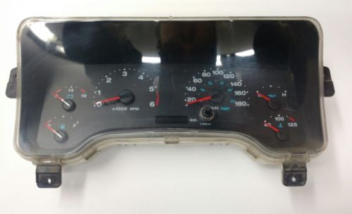 2003-2006 JEEP WRANGLER TJ SPEEDOMETER Gages KM Dash Cluster Gauges
