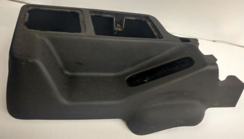 OEM Jeep Wrangler TJ Center Console Cup Holder Dark Gray Front Half 97-02