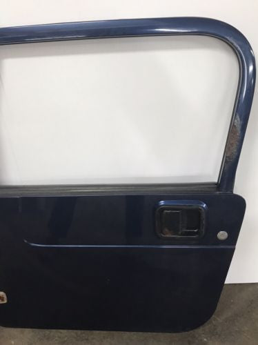Jeep Wrangler TJ Full Steel Doors 97-06 Glass Roll Up Windows Blue