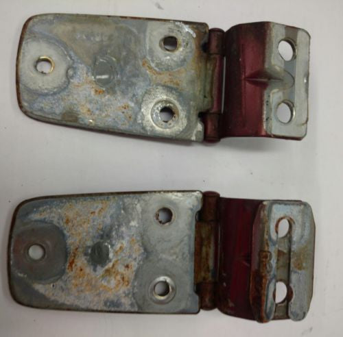Jeep Wrangler TJ 1997-2006 OEM Hood Hinge Set CHILI PEPPER RED