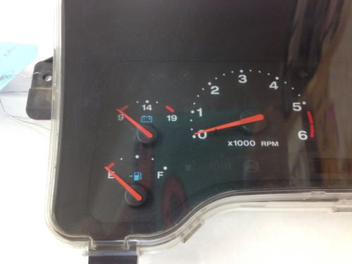 2001 JEEP WRANGLER TJ SPEEDOMETER Gages KM Dash Cluster Gauges