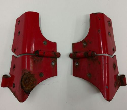 Windshield Hinges Red Steel Jeep Wrangler TJ 97-06 OEM