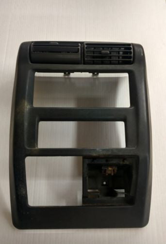 Jeep Wrangler TJ Radio Bezel Shroud 97-02 Dash Vent Surround