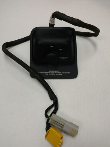 1999- 2000 Jeep Wrangler TJ Passenger Air Bag Disconnect Switch