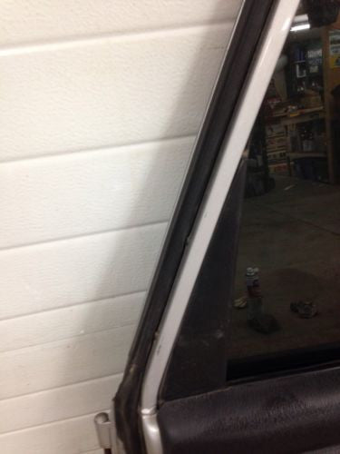 Jeep Wrangler TJ Full Steel Door 97-06 1997-2006 Glass Silver Passenger