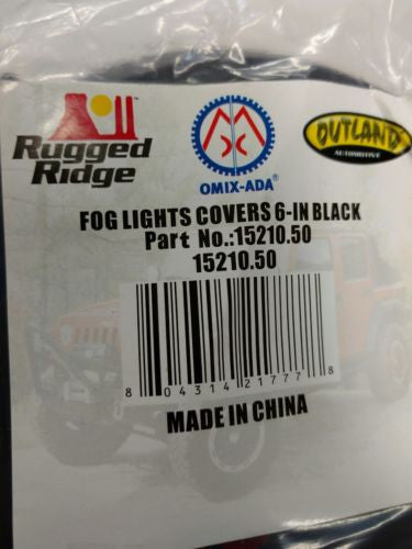 Rugged Ridge 15210.50 Off Road Light Cover