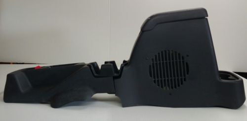 OEM Jeep Wrangler TJ Center Console Cup Holder Full Length Gray Subwoofer 2002