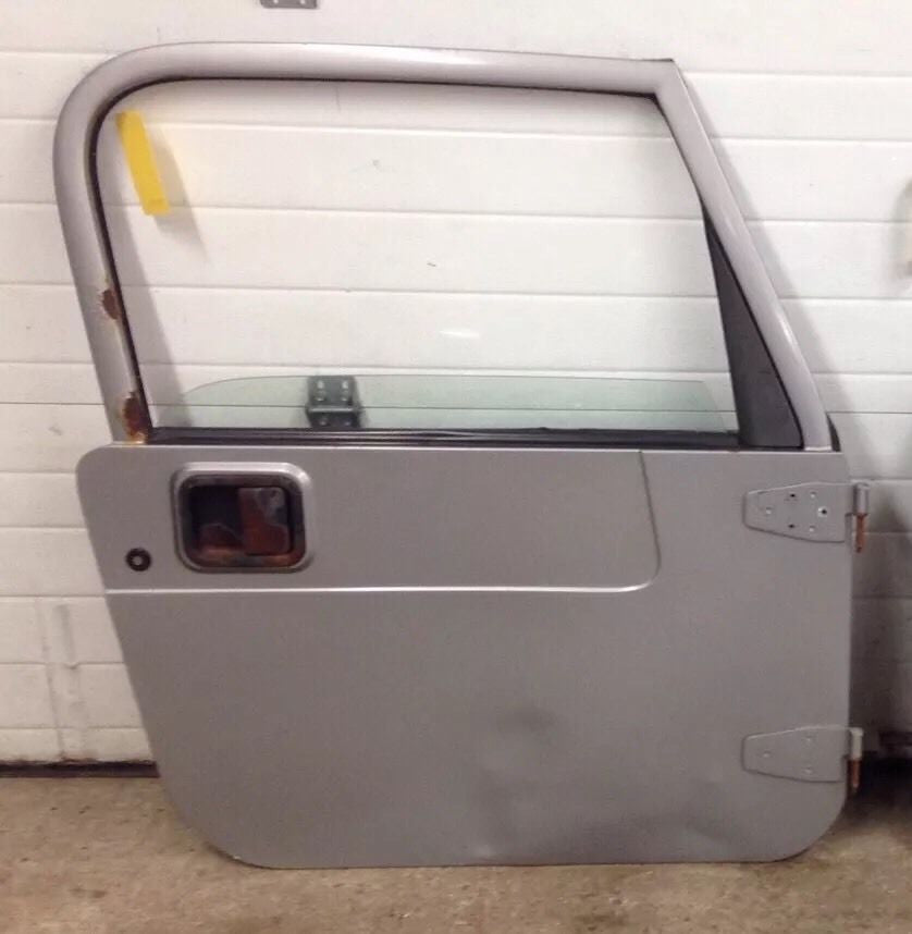 Jeep Wrangler TJ Full Steel Door 97-06 1997-2006 Glass Grey Agate Passenger Only