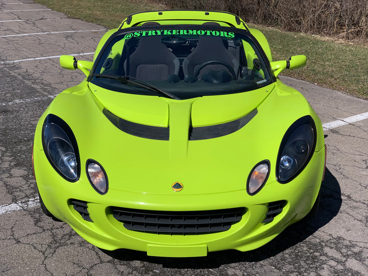 2006 Lotus Elise Krypton Green - SOLD - Targa - Larini Exhaust - Carbon Fiber Diffuser