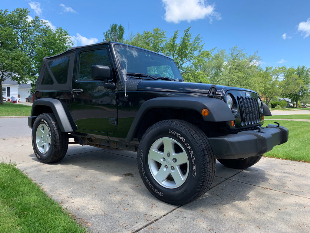 !!!SOLD!!!  2008 Jeep Wrangler JK 94,746 miles 6 speed New Transmission & Clutch  !!!SOLD!!!