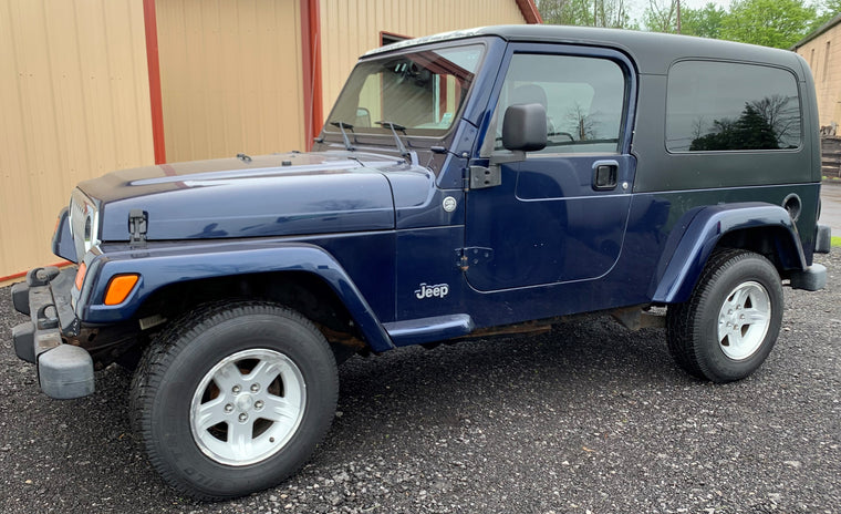 2006 Jeep Wrangler LJ - LWB Unlimited - 4.0 L 6 cylinder - Automatic - Cruise - A/C - $8499.99