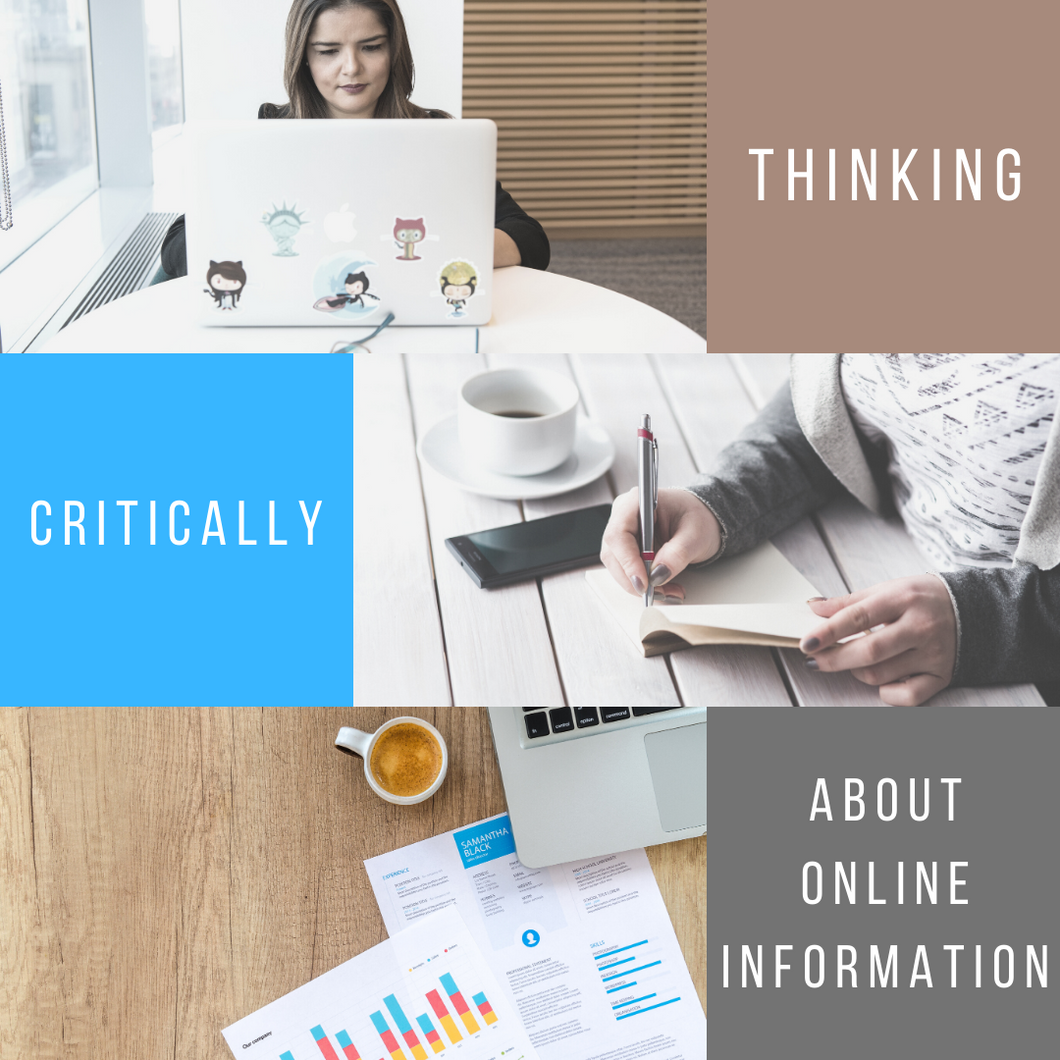 Thinking Critically About Online Information