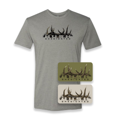 Shedicated bundle decals shirt