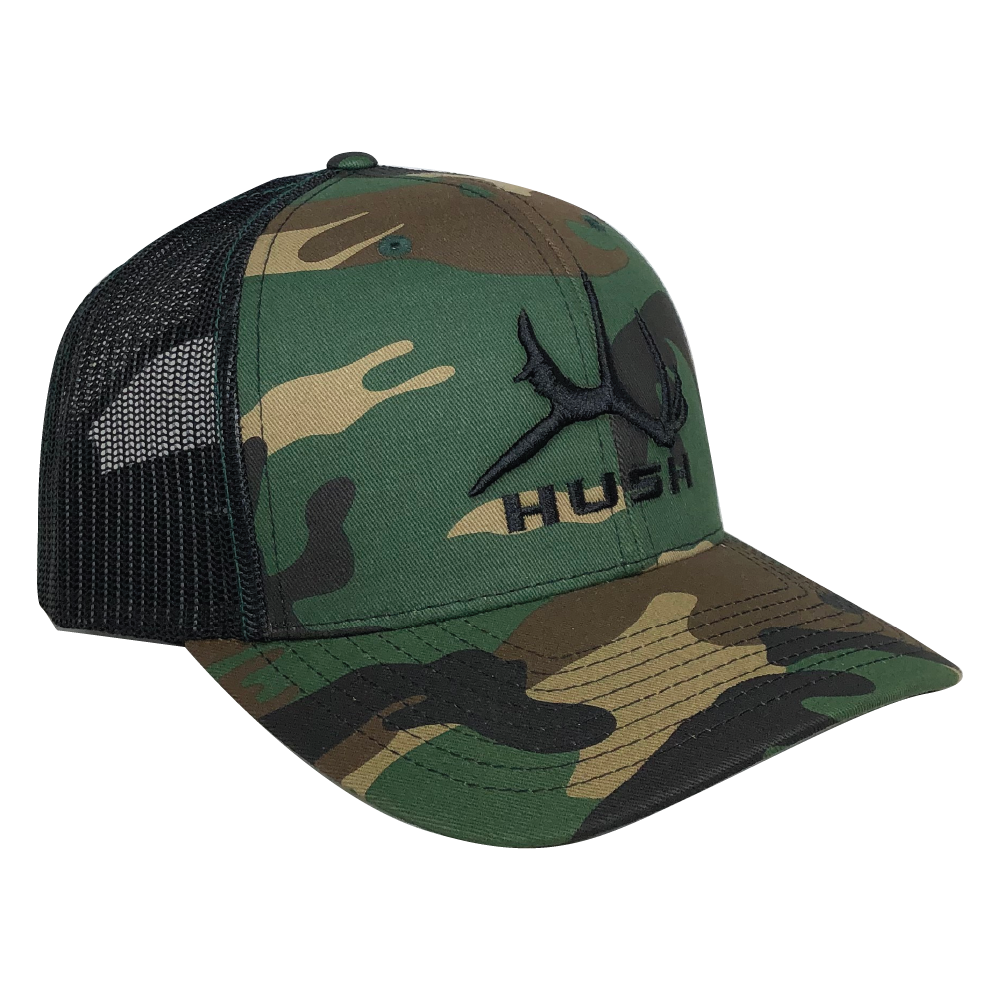 Camo Block Hat - Black