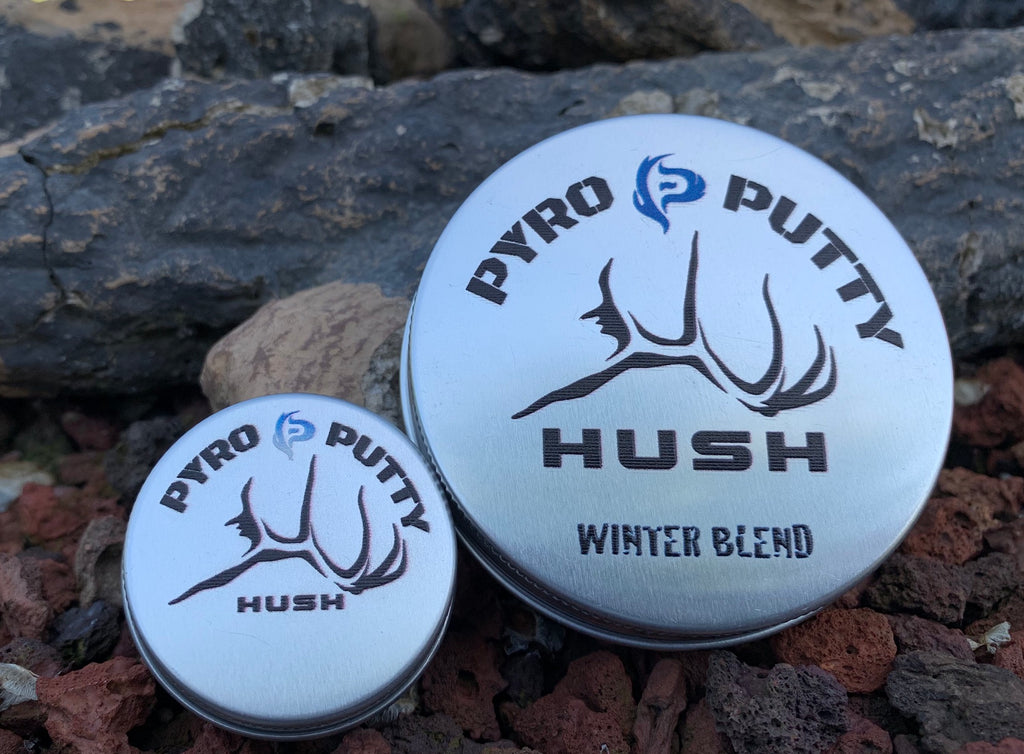 HUSH Pyro Putty Waterproof Fire Starter - 2oz. Can